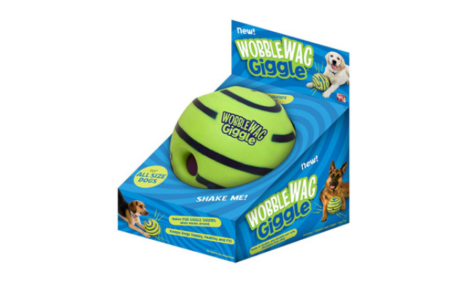 Wobble Wag Giggle Ball for Dogs