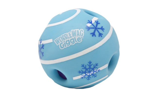 Wobble Wag Giggle Holiday Dog Toy