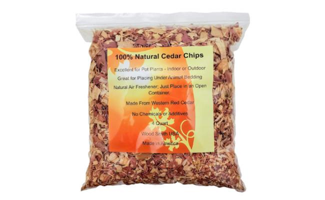 Wood Smith USA 100% Natural Cedar Chips