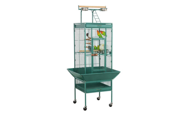 Yaheetech 61'' Wrought Iron Rolling Large Bird Cage