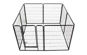 Yaheetech Heavy Duty Foldable Dog Crate