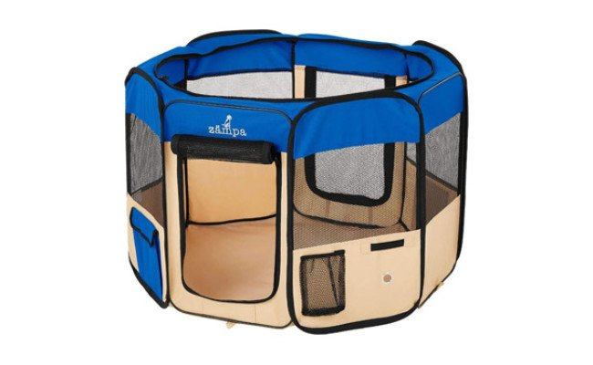 Zampa Portable Foldable Pet Playpen
