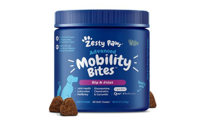 Zesty Paws Advanced Mobility Bites