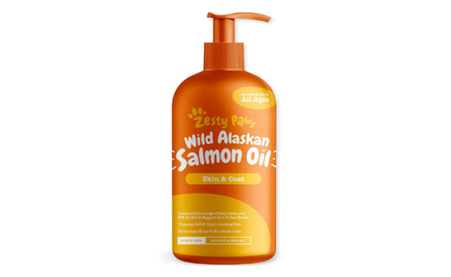 Zesty Paws Pure Wild Alaskan Salmon Oil for Dogs