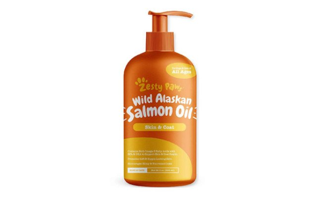 Zesty Paws Salmon Oil for Dogs