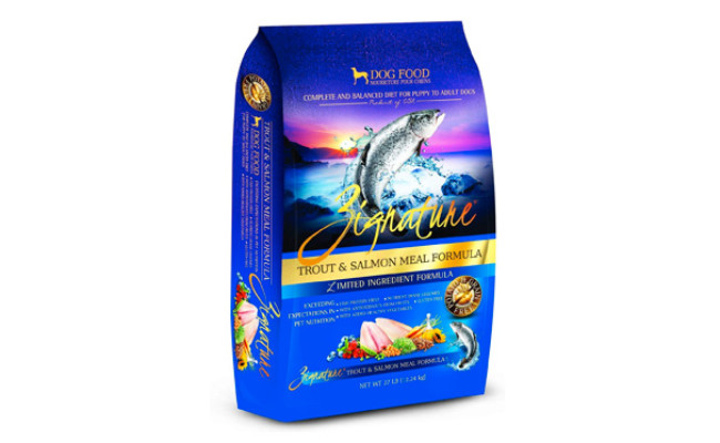Zignature Trout and Salmon Meal Formula Dry Dog Food