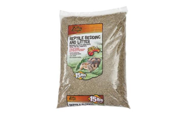 Zilla Alfalfa Meal Bearded Dragon Substrate