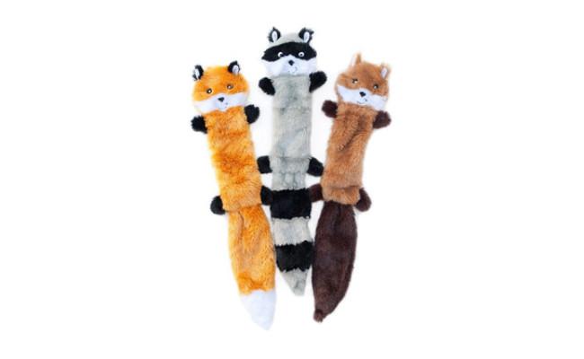 ZippyPaws No Stuffing Squeaky Plush Dog Toys