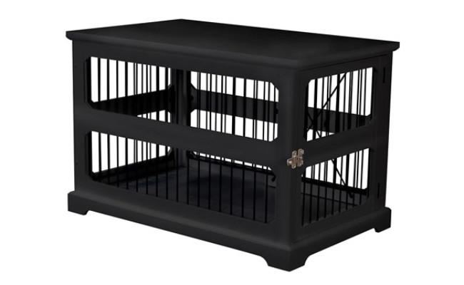 Zoovilla Medium Slide Aside Dog Crate End Table