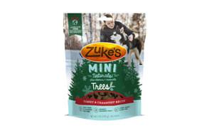 Zuke's Mini Naturals Holiday Trees Dog Treats