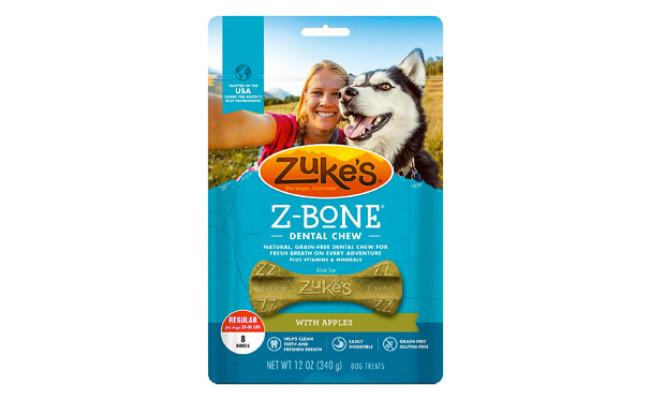 Zuke's Z-Bone Dental Chew Vegan Dog Treats