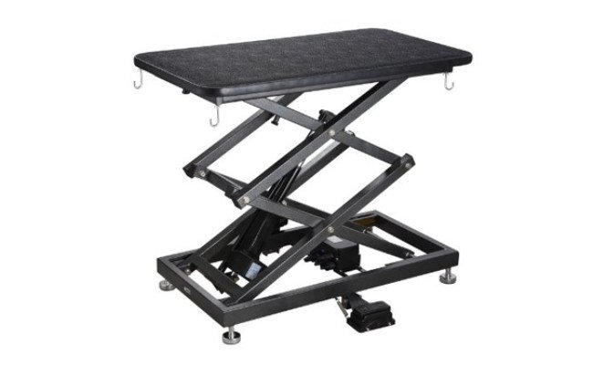 accordion grooming table for dogs