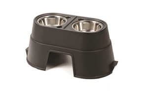 affordable raised dog bowl