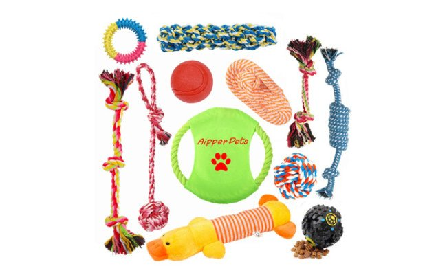 aipper toys for teething puppies
