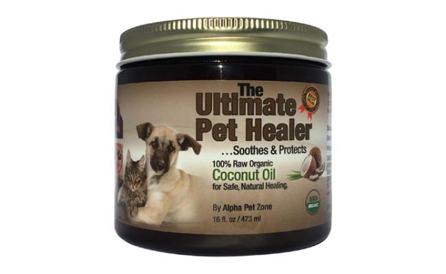 alpha pet zone coconut oil