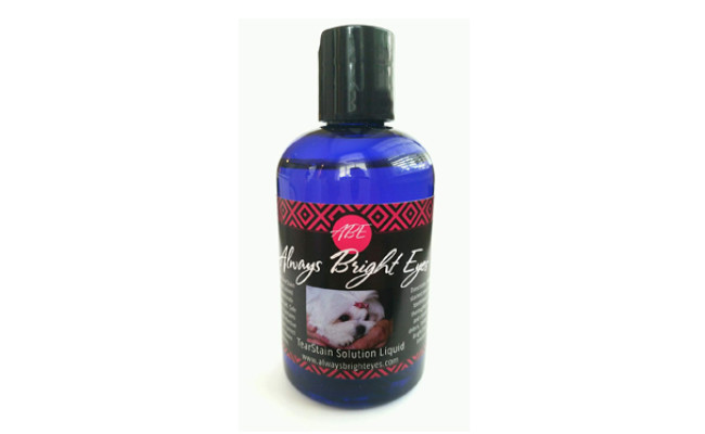 always bright eyes dog tear stain remover