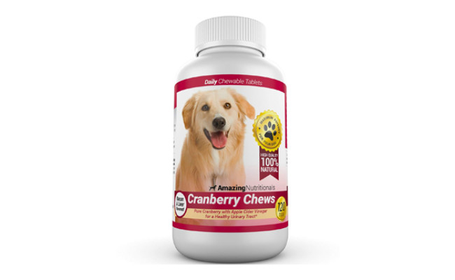 amazing nutritionals cranberry for dogs