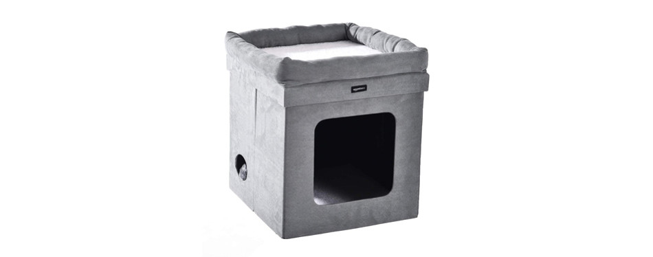 amazonbasics cat house