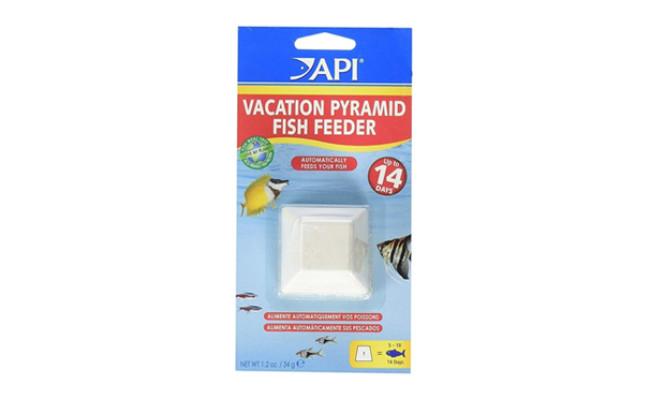 api pyramid automatic fish feeder