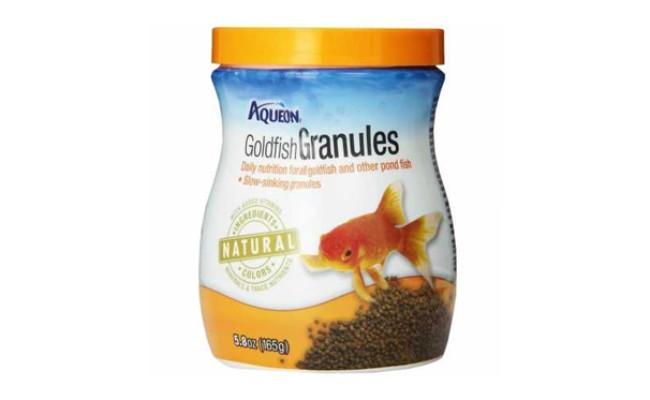 aqueon goldfish food