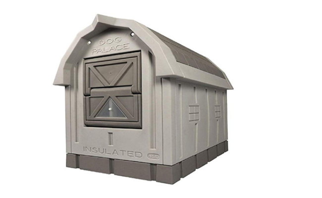 asl solutions dog palace with heater