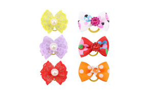 best choice dog hair bow