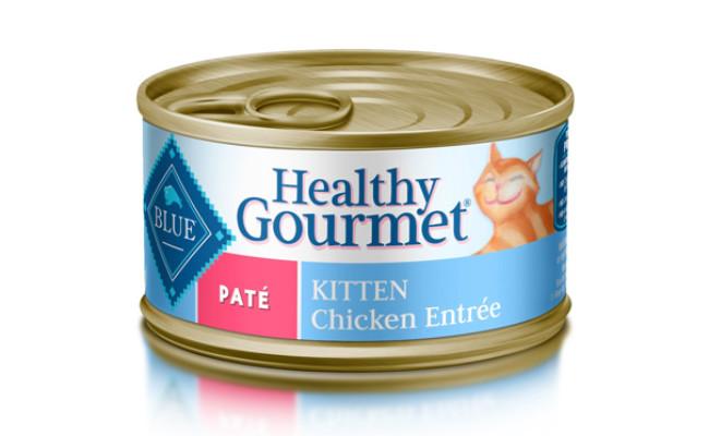 blue buffalo healthy gourmet kitten food