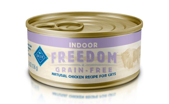 blue buffalo indoor freedom cat food