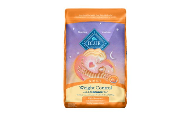 blue buffalo weight control cat food