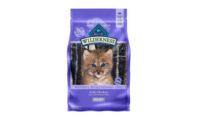 blue wilderness kitten food