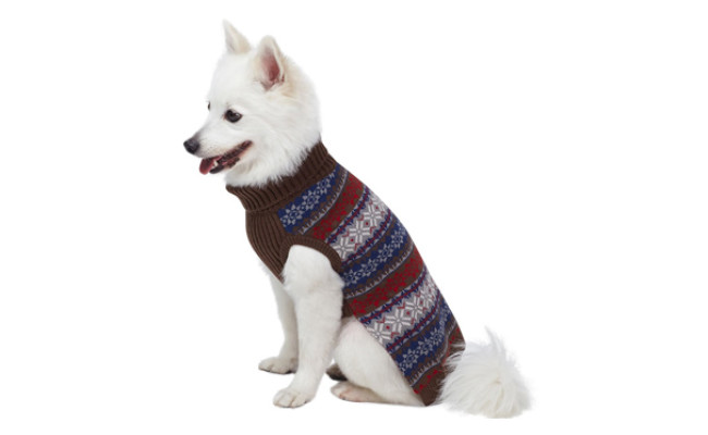 blueberry pet vintage dog sweater