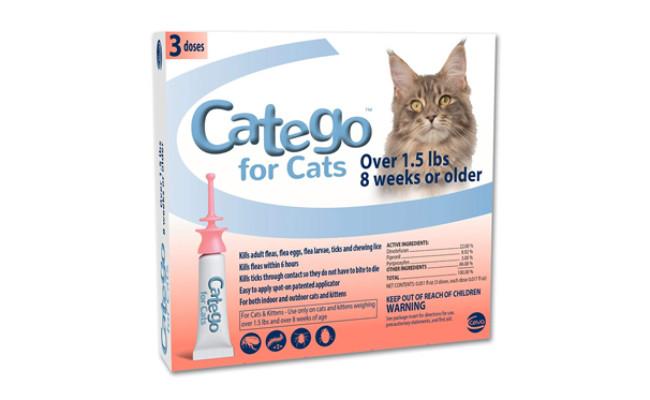 catego flea treatment for cats