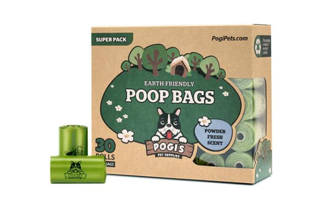 earth friendly poop bags