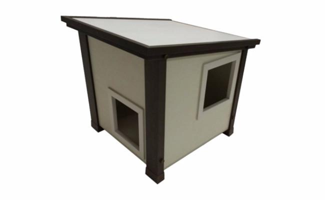 ecoflex cat house