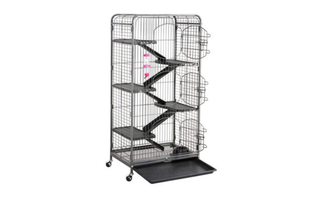 go2buy 3 Doors Ferret Cage
