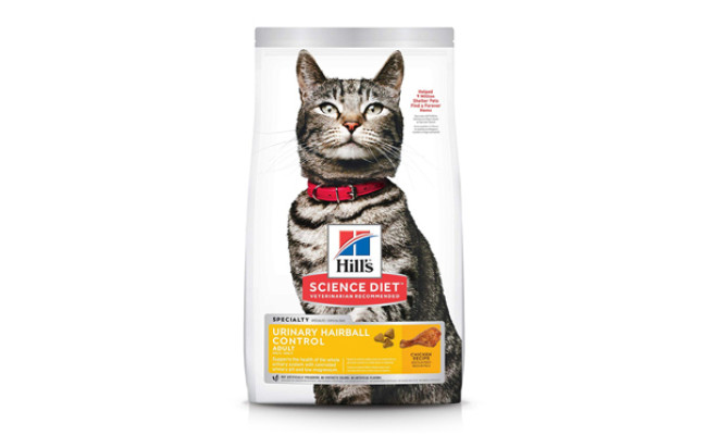 hills science cat food for constipation