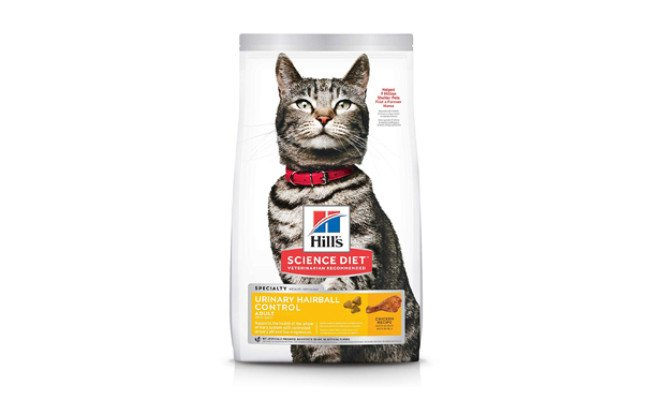 hills science diet cat food for urinary tract health