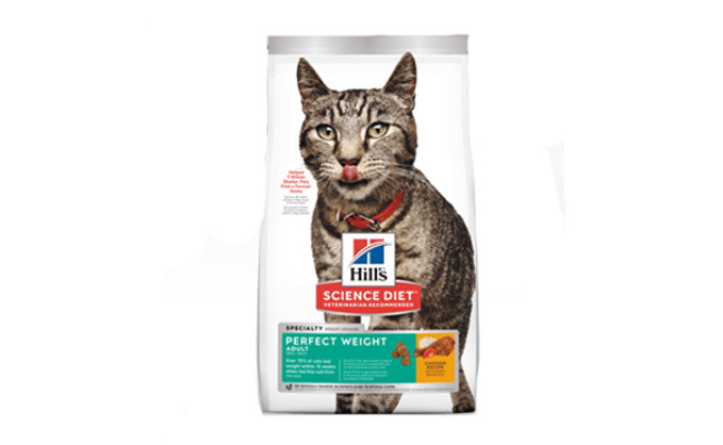 hills science diet weight control cat food