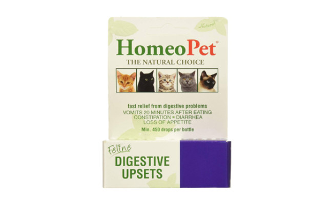 homeopet cat food for constipation