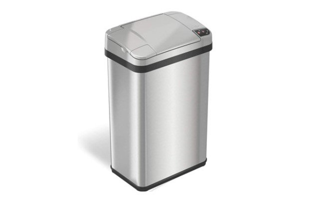 iTouchless Sensor Trash Can with Odor Filter and Fragrance