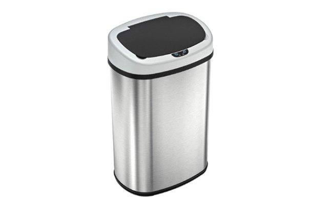 iTouchless Trash Can with Odor Control System