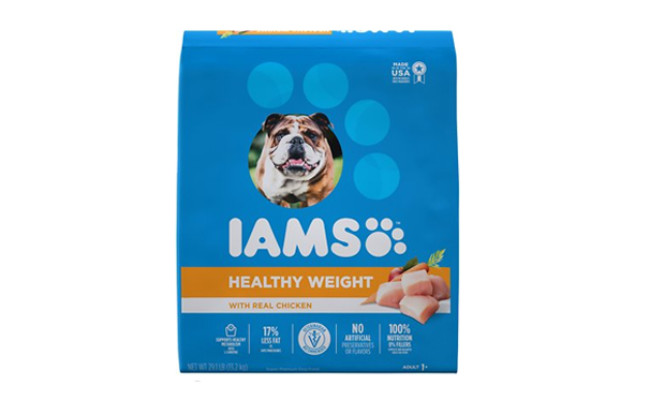 iams healthy weight with chicken