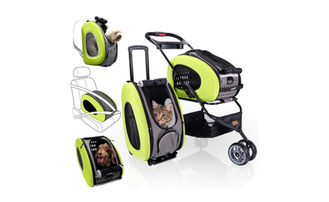 ibiyaya 5-in-1 Pet Carrier with Backpack