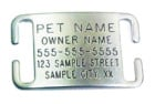 leash boss id tag for dogs