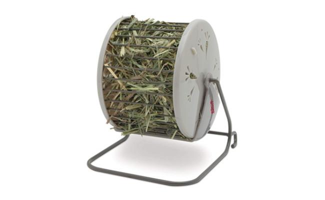 living world hay feeding station