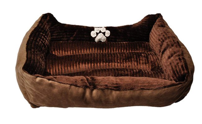 long rich washable dog bed