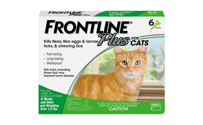 merial cat flea treatment