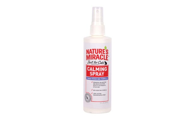 natures miracle cat calming spray