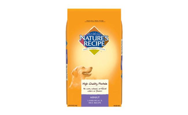 natures recipe dry dog food