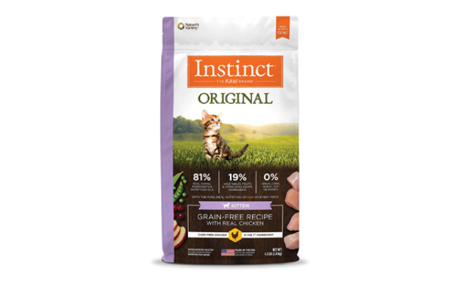natures variety dry cat food
